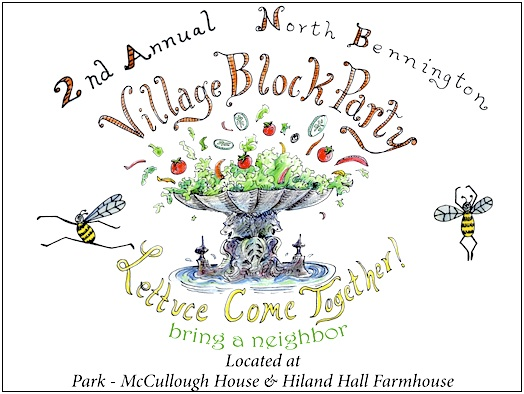 2nd Annual North Bennington Block Party