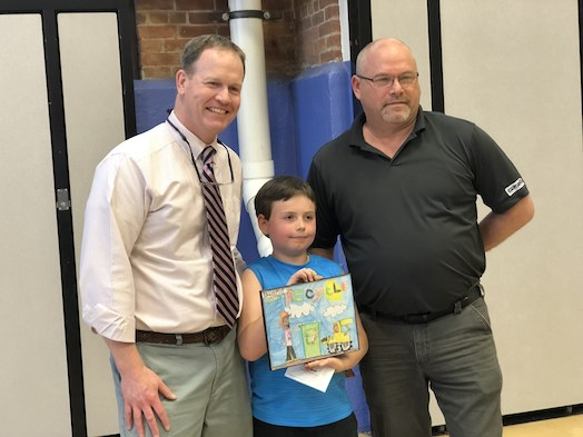 Village School Student Sawyer Smith wins Poster Contest award
