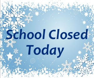 Wed., Jan. 9 – VSNB is Closed TODAY due to weather
