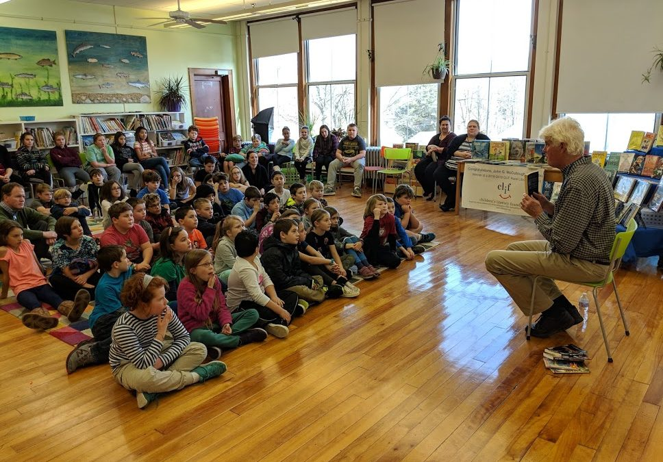 Author Doug Wilhelm Visits Village School as Part of CLiF Grant Kickoff