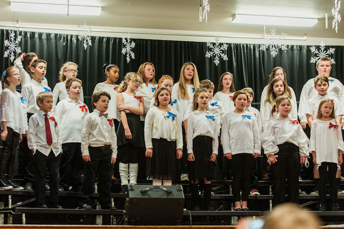 Holiday Concert 2018 Chorus