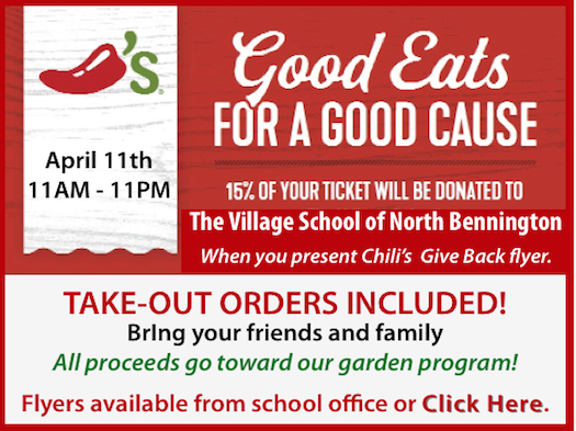 Promo for Chili's Give Back Night