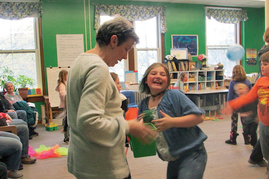 'Grandfriends' welcome at Village School