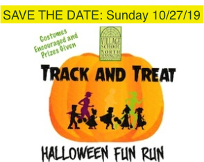 Track & Treat save the date