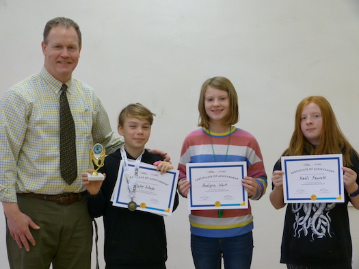 Congratulations to the 2020 Geography Bee Winners!
