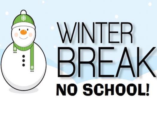 Winter Break Info & Happy Holidays