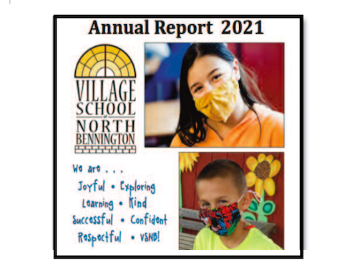 2021 Annual Report and Voter Ballots