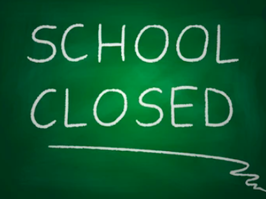 School Building Will Be Closed Friday, May 28